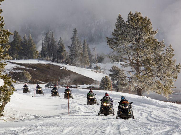 snowmobiles in Levenworth
