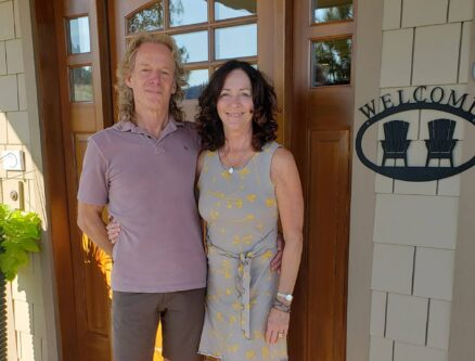 owners Mark and Diann