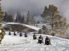 snowmobiles in Leavenworth